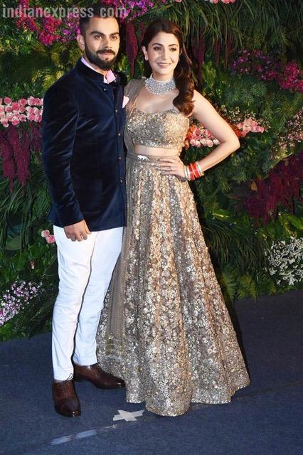 Anushka & Virat wedding Reception
