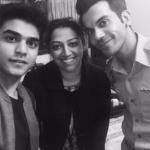 Tanvi KG and Raj Kumar Rao, Bollywood Actor for Hollywood Movie 5 Weddings
